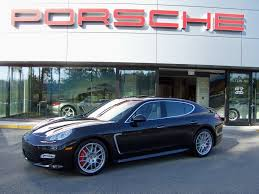 porsche hatchback interior 2010 porsche panamera turbo in basalt black with black platinum