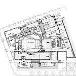 newseum floor plan architectureweek design newseum by polshek 2008 1022