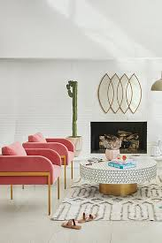 Pink Coffee Table Targua Coffee Table Anthropologie