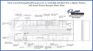 Is Floor Plan One Word by Custom Food Truck Floor Plan Samples Prestige Custom Food Truck
