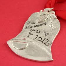 personalized sted jewelry personalized pewter bell