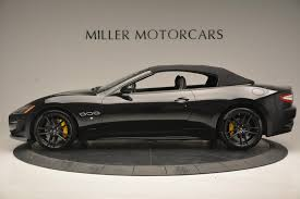 maserati 2017 granturismo 2017 maserati granturismo convertible sport stock m1632 for sale