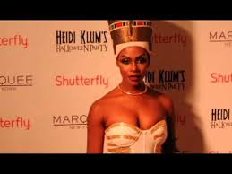 Nefertiti Halloween Costume Tika Sumpter Wearing Nefertiti Costume