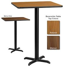 square tables for sale amazon com costway high table square pub bar black mdf top