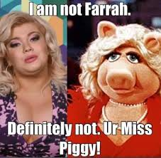 Amber Meme - amber portwood hits back at farrah abraham after miss piggy comments