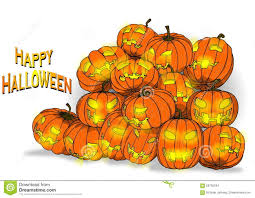 happy halloween pumpkin clipart pumpkin background stock photo image 58705244