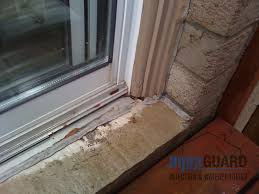 Patio Door Frames Basements And Leaking From Above A Foundation
