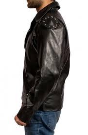 black motorcycle jacket mad max leather jacket rockatansky motorcycle jacket
