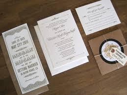 deco wedding invitations megan s metallic deco letterpress wedding invitations