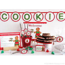 holiday cookie exchange invitation kit amy miller designs