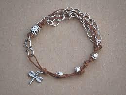 how to make a waxed irish linen u0026 sterling silver bracelet make