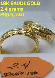 saudi gold wedding ring 18k saudi gold wedding ring jewelry cavite city philippines