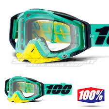100 motocross goggle racecraft bootcamp maschere da motocross 100 the racecraft settantadue it