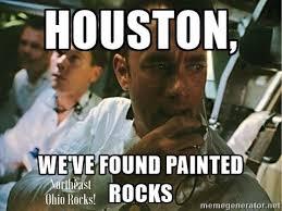 Funny Rock Memes - painted rock meme northeast ohio rocks northeastohiorocks