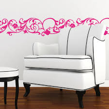wall stickers miscellaneous borders banners shop wall art com rose border wall sticker
