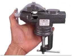 Alat Catok Besi 60 mm mini meja catok catok bangku catok kecil besi cor alat diy