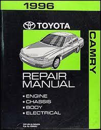 1993 toyota camry repair manual 1996 toyota camry repair shop manual original