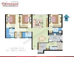 O2 Floor Plan by Pioneer Property Management Ltd