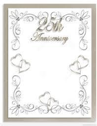 50th Wedding Anniversary Invitation Cards 25th Wedding Anniversary 2017 Wedding Ideas Magazine Weddings
