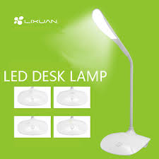 led fashion usb desk lamp energy saving table reading lamps from