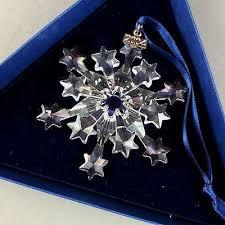 swarovski crystal 2004 snowflake annual edition holiday christmas