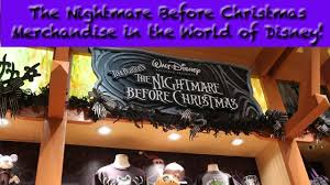 the nightmare before merchandise in the world of disney