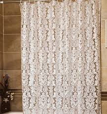 Classic Shower Curtain Lace Shower Curtain Vintage Country With Valance