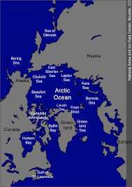 Gulf Of Alaska Map Map Of The Arctic Ocean Arctic Sea Ice News And Analysis