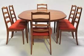 Dining Room Sets 6 Chairs by G Plan Butterfly Leaf Dining Table With 6 Chairs