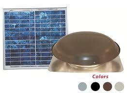 solar powered attic ventilation residential fans