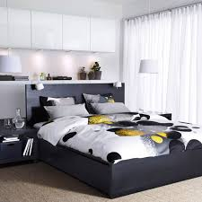 Ikea Bedroom Ideas by Ikea Bedroom Storage Black Upholstered Leather Single Bed Wooden