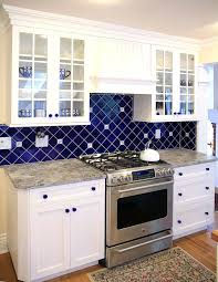 Blue Glass Kitchen Backsplash Blue Glass Backsplash Kitchen Blue Kitchen Kitchen Beautiful