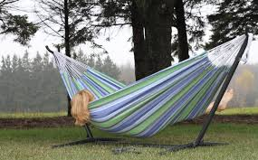 best camping hammock vivere double hammock with space saving
