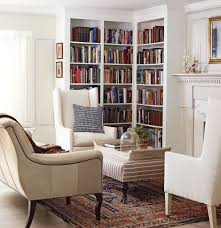 Corner Bookcases Corner Bookcases Fireplace Light Coloured Comfy Chairs 3 Home