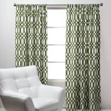 geo panels green modern curtains by z gallerie