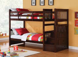 best bunker bed ideas pinterest contemporary bunk beds alem espresso twin bunk bed storage ladder