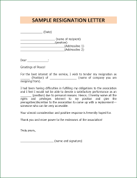 14 format for resignation letter for a personal reason