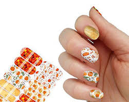 10 thanksgiving nail decals stickers 2016 fabulous nail