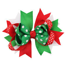 christmas hair accessories baby christmas hair for bowknot hairpin hair bow hair