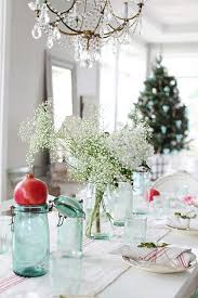 table top decoration ideas colorful christmas tabletop decor ideas white purple and teal