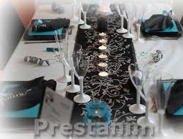 mariage baroque mariage baroque décoration mariage thème baroque noir turquoise