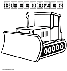 bulldozer coloring pages coloring pages to download and print