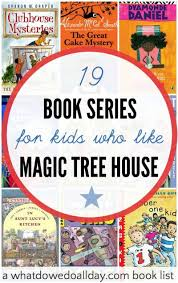 books like magic tree house