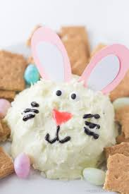 easter bunny cheeseball made to be a momma