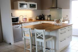 plan de travail central cuisine ikea wunderbar ikea ilot central cuisine id e decoration