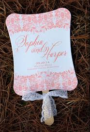 cheap wedding programs fan wedding programs wiregrass weddings