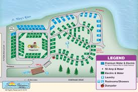Michigan Campgrounds Map by Aune Osborn Campground Find Campgrounds Near Sault Ste Marie