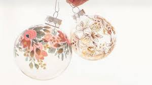 homelife make your own baubles with temporary tattoos