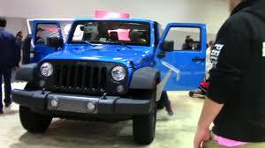 jeep scrambler blue jeep wrangler blue antarctic 2018 2017 washington dc auto show