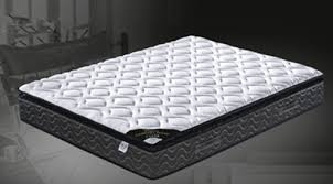 1580 continuous spring pillow top mattress in single king single